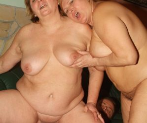 Bum heavy plumpers Anna and Yolanda takes turns taking a firm wang in their plump honeypots