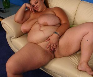 Humungous bbw Mona flaunts her immense bazooms before she gets ebony sausage cunt humping