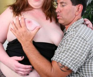 Mature ash-blonde having her labia man-meat opened up